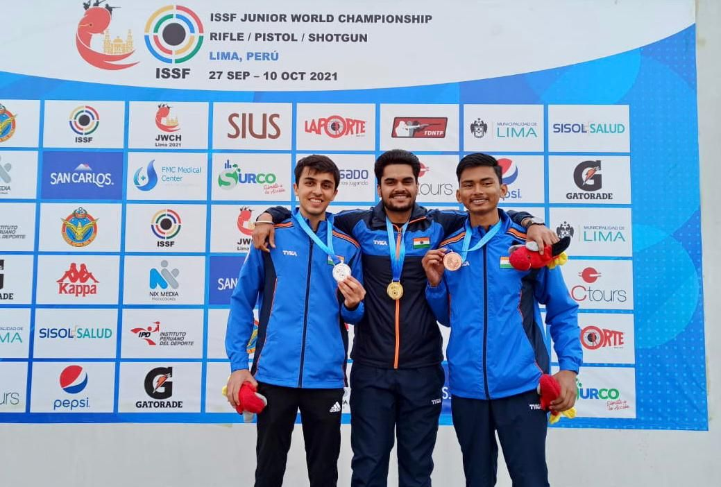 Shaurya Sarin – an alumnus of VVS represents Group India at the ISSF Junior World Championship Rifle/Pistol/Shotgun